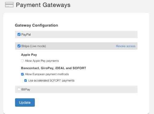 SendOwl Payment Gateway