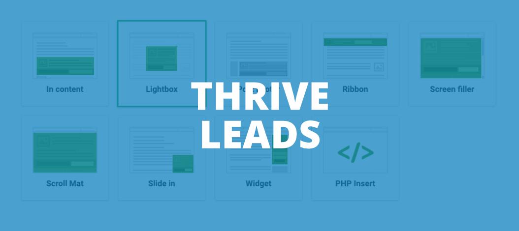 Thrive Leads Blog