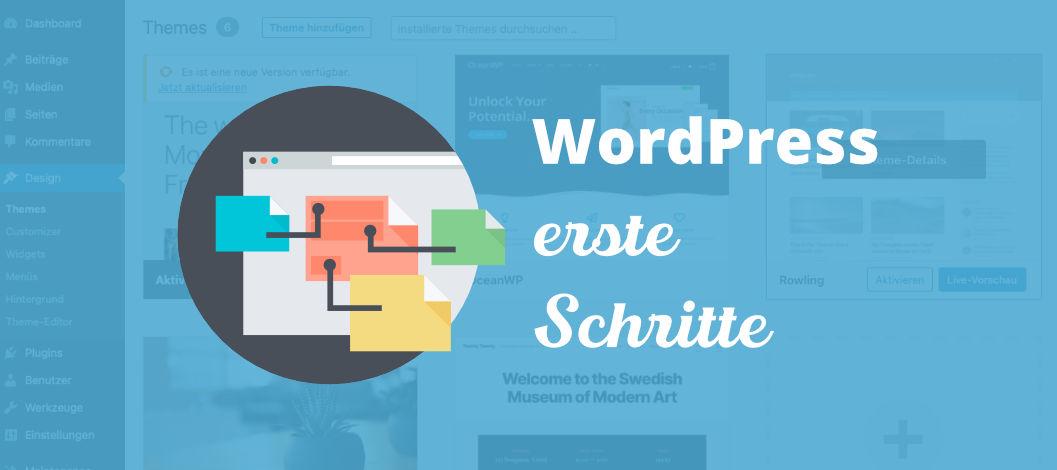 Wordpress erste Schritte nach der Installation